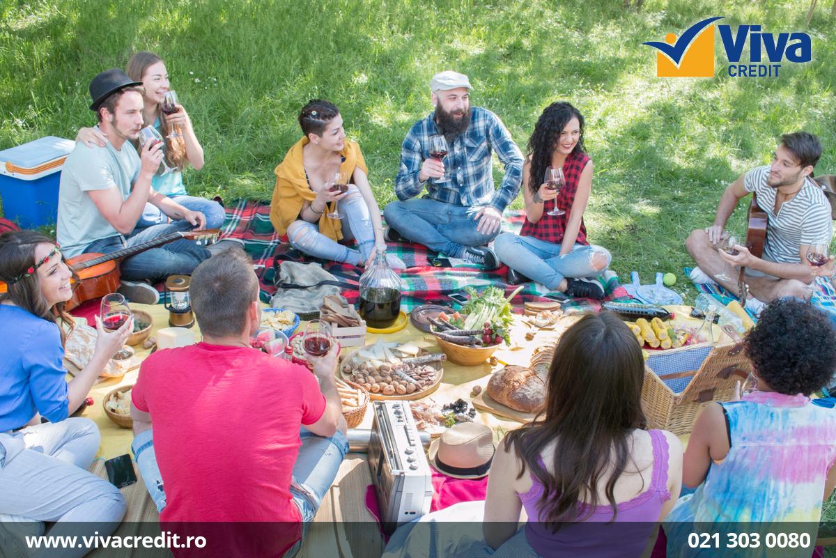 picnic cu prietenii
